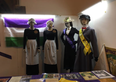 Suffragette exhibition